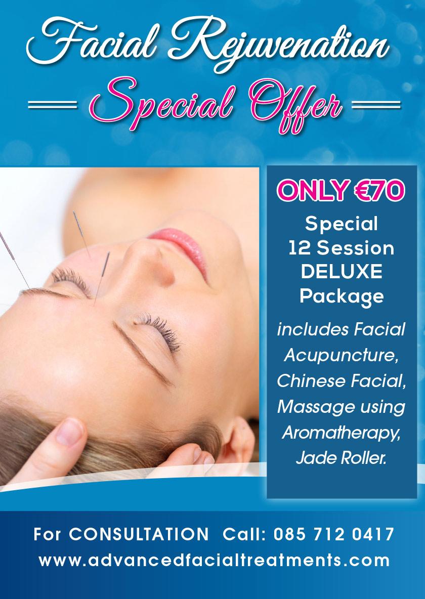 Special facial treatments